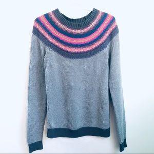 Massimo Dutti Jacquard Print Sweater